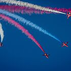 Red Arrows 1,2,3,  by Darren Wilkes