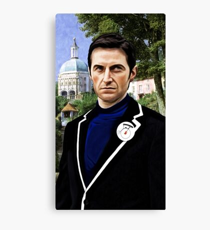 Richard Armitage Is Not A Number Canvas Print