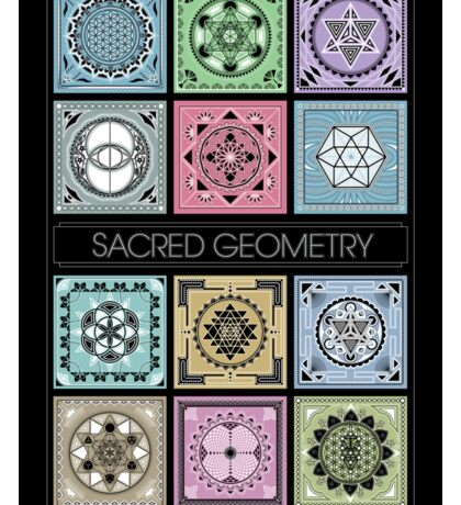 SACRED GEOMETRY - ARCHITECTURE OF THE UNIVERSE Sticker
