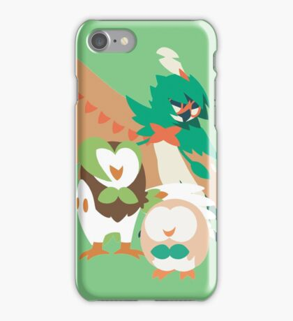 Rowlet Evolution iPhone Case/Skin