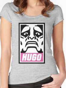 Hugo's Number One Women's Fitted Scoop T-Shirt