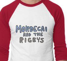 Mordecai and the Rigbys Men's Baseball ¾ T-Shirt