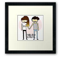 Zalfie- OTP Framed Print