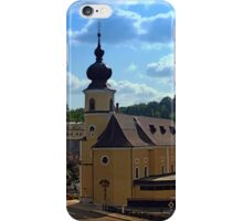 The village church of Helfenberg IV | architectural photography iPhone Case/Skin