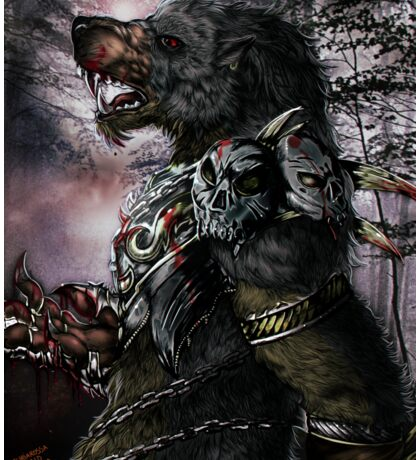 Werewolf - The warlord Sticker