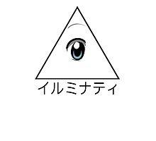Anime illuminati art  by spiceboy
