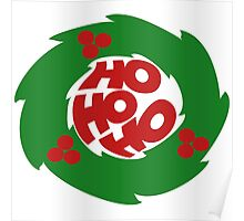 Ho ho ho merry christmas Poster
