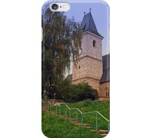 The village church of Kronstorf I | architectural photography iPhone Case/Skin