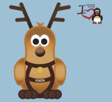 Christmas Penguin - Vixen Baby Tee