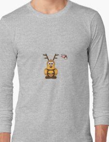 Christmas Penguin - Vixen Long Sleeve T-Shirt