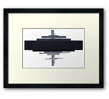 suprematism abstract art Framed Print