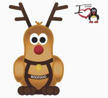 Christmas Penguin - Roofdog (Rudolph) by jimcwood