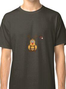 Christmas Penguin - Roofdog (Rudolph) Classic T-Shirt