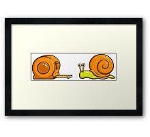 Snail Mate Framed Print