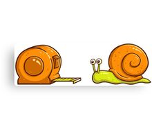 Snail Mate Canvas Print