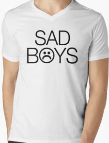 Sad Boys 2001 Yung Lean Mens V-Neck T-Shirt