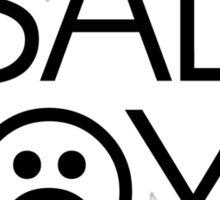 Sad Boys 2001 Yung Lean Sticker