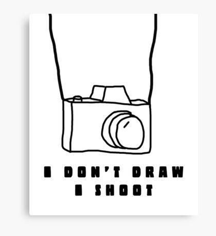 Photography Humor Canvas Print
