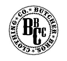 Butcher Bros Clothing Photographic Print