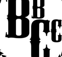 Butcher Bros Clothing Sticker
