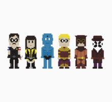 8-Bit Super Heroes 4: The Watch Guys Kids Clothes