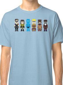 8-Bit Super Heroes 4: The Watch Guys Classic T-Shirt