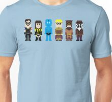 8-Bit Super Heroes 4: The Watch Guys Unisex T-Shirt