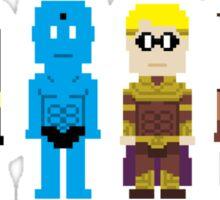8-Bit Super Heroes 4: The Watch Guys Sticker