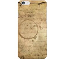Caffeinated Kingdom; Vintage Old School Texture Serie iPhone Case/Skin