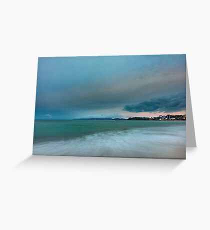 Seascape Nah Trang  Greeting Card