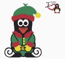 Christmas Penguin - Elf by jimcwood