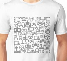 Game a background Unisex T-Shirt