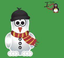 Christmas Penguin - Snowman Kids Clothes