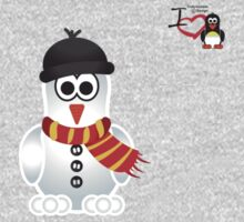 Christmas Penguin - Snowman One Piece - Long Sleeve