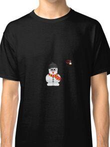 Christmas Penguin - Snowman Classic T-Shirt