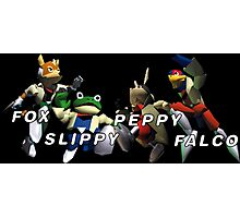 Starfox Team Photographic Print