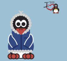 Christmas Penguin - Kid Kids Tee