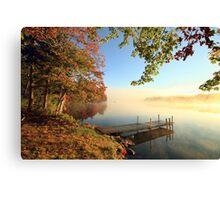 Early October Morning at Bird Lake Canvas Print