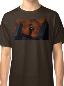 Freakazoid Gotham Skyline Sillhouette Classic T-Shirt