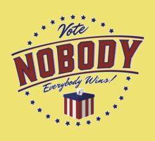 Vote Nobody Kids Clothes