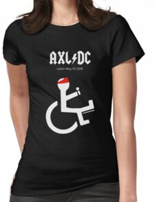 Funny AXL/DC Lisbon Womens Fitted T-Shirt