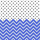 Polka Dot Chevron by geekgal212