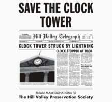 Save the clock tower by jorgebld