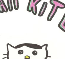 Kawaii Kitler Sticker