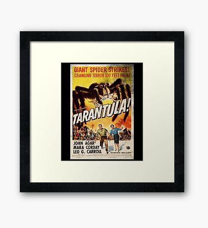 Tarantula Vintage Retro Movie Poster Framed Print