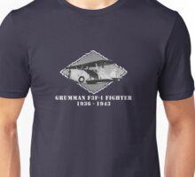 U.S. Navy - Grumman F3F-1 Fighter (White) Unisex T-Shirt