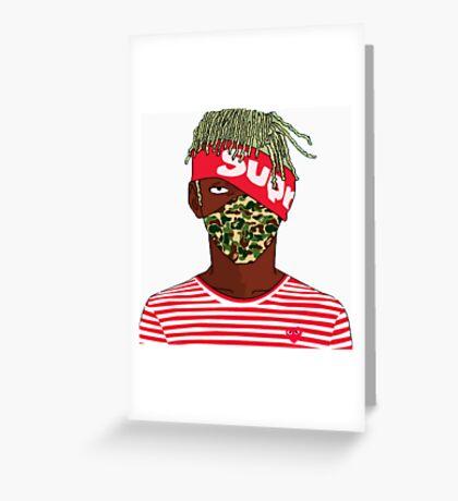 Lil Uzi Vert - Kakashi Greeting Card
