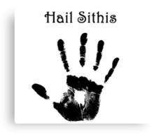 Hail Sithis Canvas Print