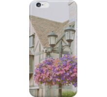 Shakespeare's Birth Place iPhone Case/Skin