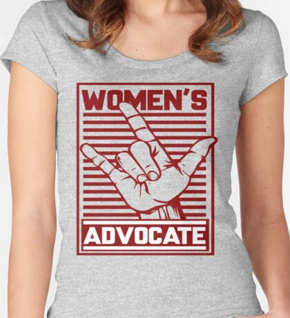 Women's Love Advocate Women's Fitted Scoop T-Shirt